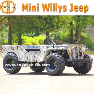 Bode Quanlity Assured New 50cc Jeep Willys for Sale pictures & photos