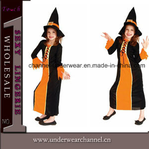 Good Quality Children Halloween Witch Party Costume (TGY0065) pictures & photos