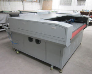Double 100W Laser Cutter with Auto Feeder From Sunylaser pictures & photos