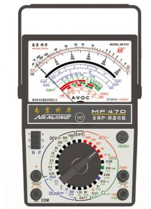 Analog Multimeter (MF47D) W Ith ISO Certified pictures & photos
