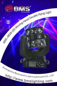 16 PCS CREE RGBW LED Moving Head Double Flying Light