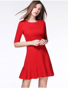 2016 Wholesale Fashion Casual Dress Summer Dress for Ladies pictures & photos