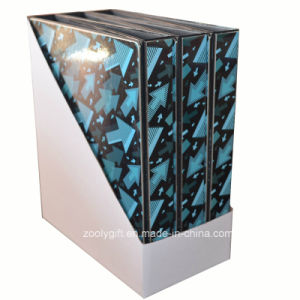 Cheap PVC Printing Paper 3- Ring Binder with Display Box pictures & photos