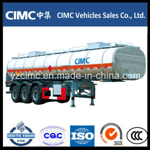 Cimc 42cbm Aluminum Fuel Tanker Trailer pictures & photos