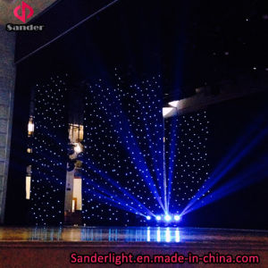 LED Sky Twinkling Star Cloth Curtain for Music Concert, Hotel Decoration pictures & photos