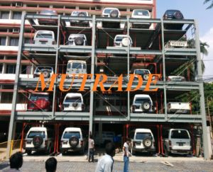 China automated puzzle parking sturcture psh parking for Garage self auto