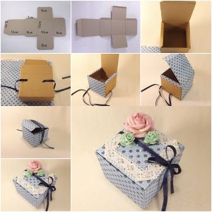 Handmade Craft Paper Gift Boxes pictures & photos