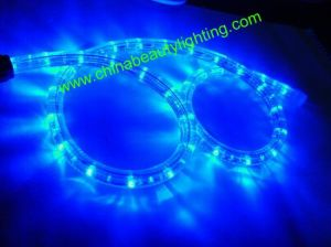 LED 2 Wires Round Shape ETL LED Rope Light pictures & photos