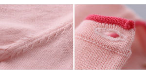 Kids Girls Clothes Knitted Cardigan for Spring/Autumn pictures & photos