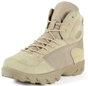 Tactical Military Desert Khaki Hunting Shoes Combat Boots pictures & photos