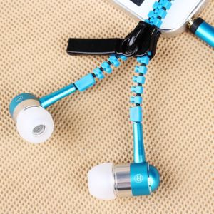 3.5mm Connector 1.2m Wire High Quality in-Ear Zipper Earphones pictures & photos
