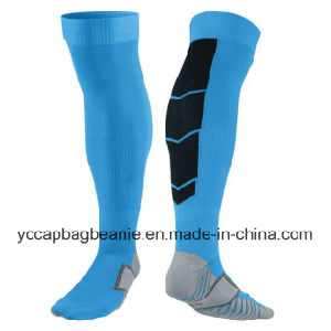 Knee High Fitness Sport Compression Socks Running Socks pictures & photos