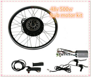 china 48v 500w front or rear wheel electric bike hub motor