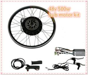 china 48v 500w front or rear wheel electric bike hub motor For500w Hub Motor Kit