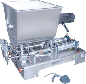 Multiple Nozzle Paste Filler with Mixer pictures & photos