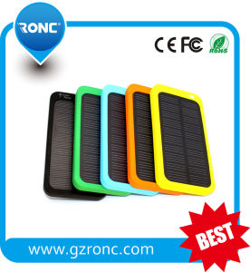 New Arrival Solar Power Charger 4000mAh with Gift Pacakge pictures & photos