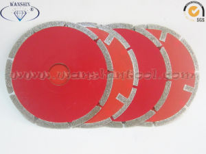 4′′ Electroplated Cutting Disc for Marble pictures & photos