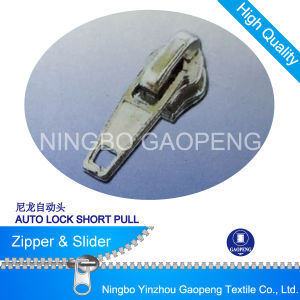 Zipper Auto Locker Slider for Clothing/Garment/Shoes/Bag/Case pictures & photos