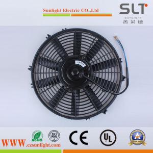 Energy Saving 12V Mini Condenser Radiator Fan for Car pictures & photos