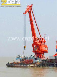 Marine Telescopic Boom Ship Deck Crane pictures & photos