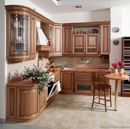 Light Wood Kitchen Cabinet (lw3) pictures & photos