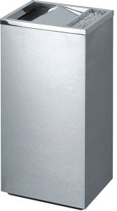Hot Selling Stainless Steel Dustbin with Flip Tyle (YH-52D) pictures & photos