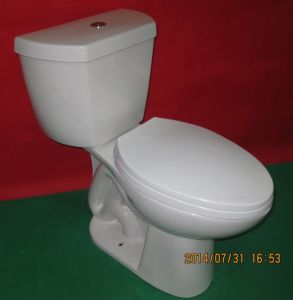 Economic Round 0.8gpf Two Piece Toilet