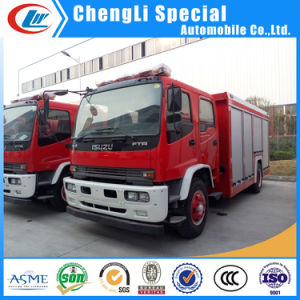 8000liters Water and Foam Isuzu Fire Fighting Truck for Sale pictures & photos