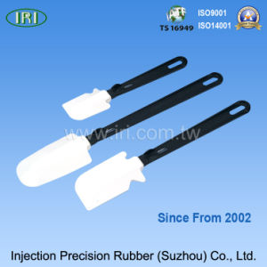 Safety Silicone Scoop for Cake Making (IRI-K2)