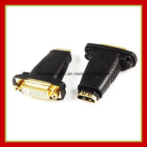 DVI (24+5) Female to HDMI Female Adaptor Plug pictures & photos