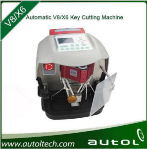 Automatic V8 / X6 Key Cutting Machine for Locksmith pictures & photos