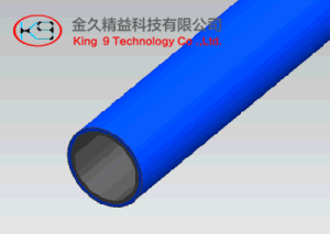 blue Color 1.0mm Lean Pipe pictures & photos