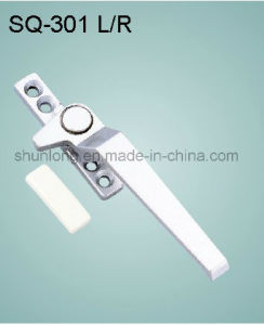 Zinc Alloy Handle for Windows/Doors Hardware Fittings (SQ-301 L/R)