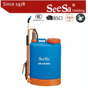 20L Knapsack/Backpack Manual Hand Pressure Brass Cylinder Agricultural Sprayer (SX-LK20V) pictures & photos