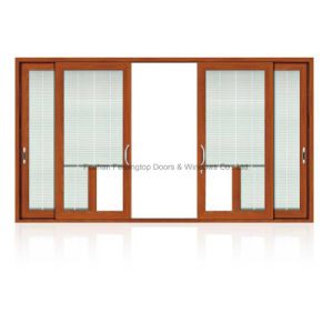 Superior Ventilation Three-Track Rail Aluminium Sliding Window (FT-W126) pictures & photos