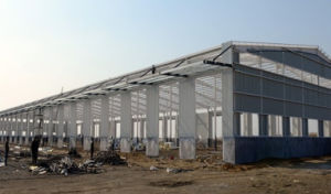 Prefab Construction Factory Light Steel Structure pictures & photos