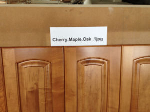 Hard Maple Solid Wood Frame Less Upper Kitchen Cabinets and Lower Cabinets pictures & photos