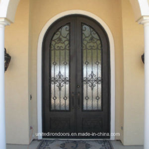 Wholesale Round Top Wrought Iron Door (UID-D023) pictures & photos