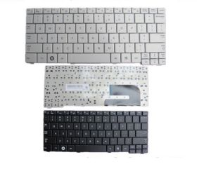 Laptop Keyboard for Samsung Np-N148 Us Keyboard White pictures & photos