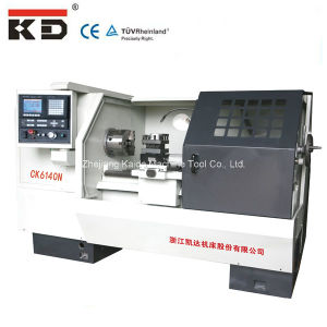 Kaida Manufacture High Precision Flat Bed CNC Lathe (CK6140N) pictures & photos
