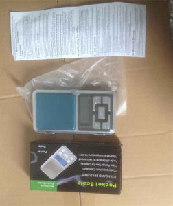 100g/200g/300g*0.01g Electronic Jewelry Scale Digital Pocket Scale pictures & photos