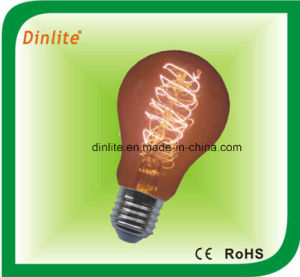A-Line 60W 64 anchors golden incandescent bulb pictures & photos