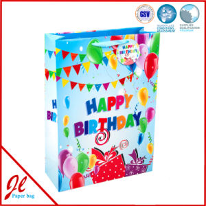 Paper Flag Color Fancy Gift Shopping Bags for Birthday pictures & photos
