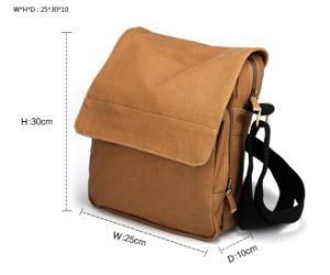 Wholesale Canvas Bag Cheap Vintage Camera Bag for Men Sh-16042740 pictures & photos
