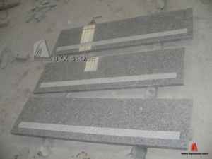 Grey Granite Stair Treads/Stone Step for Outdoor pictures & photos
