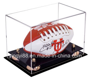 Custom Clear Acrylic Box for Sports (YYB-8948) pictures & photos