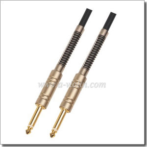 Nickel Connector Wire Guitar Cable (AL-G005) pictures & photos