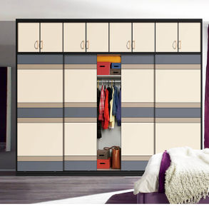 2016 New Modern Wooden Sliding Door Wardrobe Bedroom Sets (customzied) pictures & photos