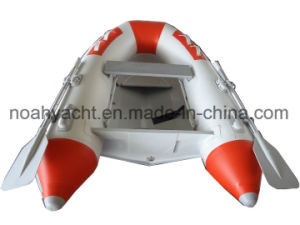 Mini Aluminum Speed Boat with PVC or Hypalon Inflatable Tube pictures & photos