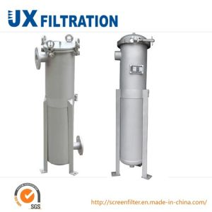 High Temperture Stainless Steel Single Bag Filter pictures & photos